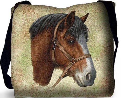 Clydesdale Horse Shoulder Bag A Bentley Cushions