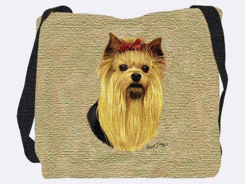 Yorkshire Terrier Shoulder Bag A Bentley Cushions