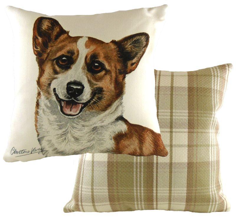 Corgi Boston Waggy Dogz Cushion A Bentley Cushions