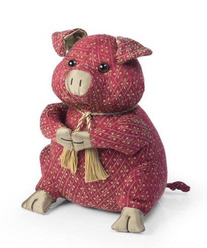 Lady Marmalade Pig Doormat A Bentley Cushions