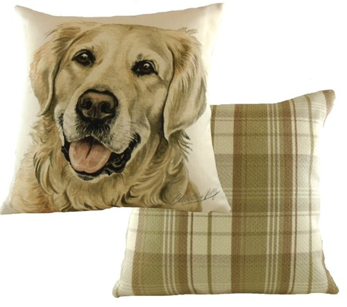 Gifts For Golden Retriever Owners A Bentley Cushions