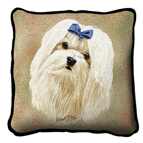 Maltese Tapestry Cushion A Bentley Cushions