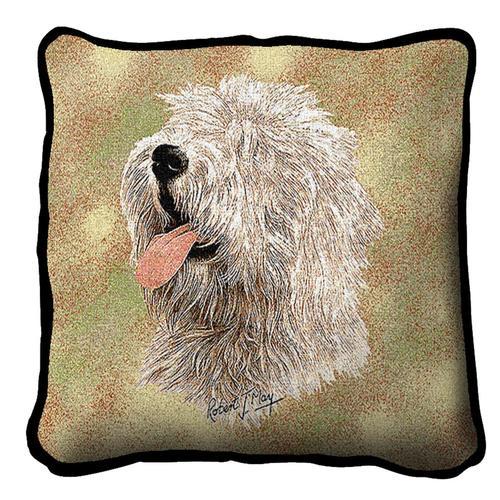 Old English Sheepdog Tapestry Cushion A Bentley Cushions