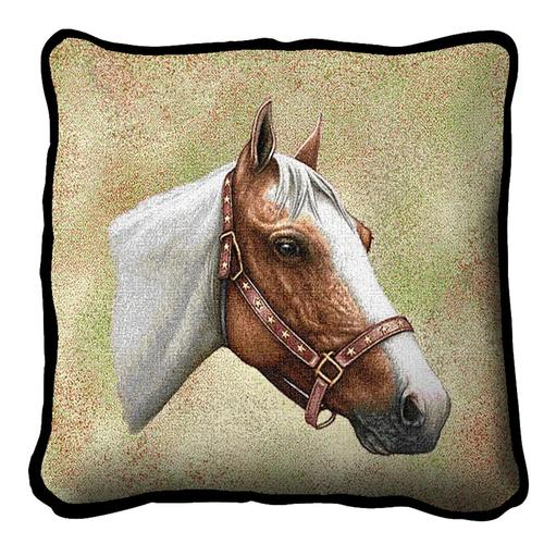 Pinto Horse Tapestry Cushion A Bentley Cushions